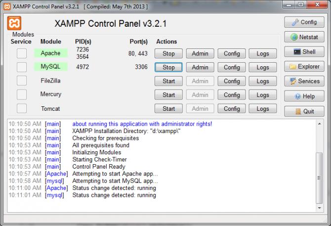 Membuat Koneksi Eclipse ke Database Mysql (XAMPP)